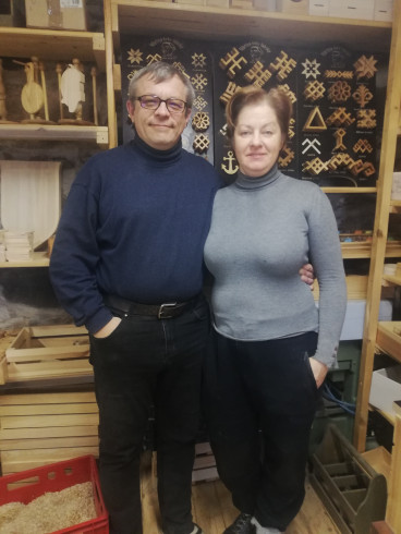 Latvian artisans woodwork