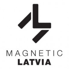 Magnetic Latvia logo